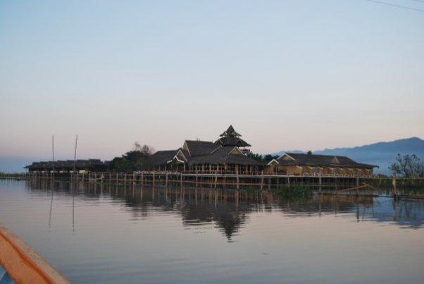 Hotel on Inle Lake