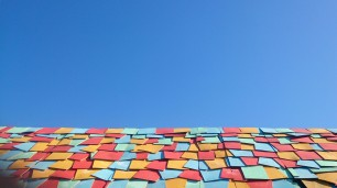 Roof of Pop-Up Bar @Southbound Festival, Busselton WA