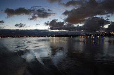 Swan River Winter Lights