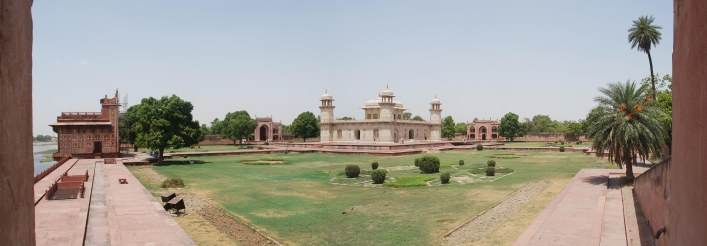 Baby Taj from the corner, Agra