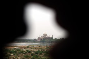 The Taj from the Agra Fort