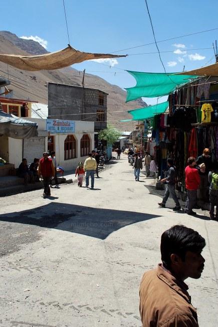 Kaza market - Spiti, Northern India