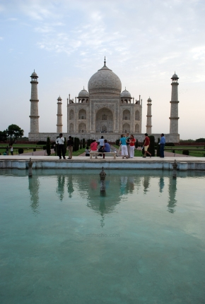Taj Mahal & Reflections