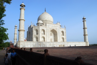 The Taj Mahal from another angle