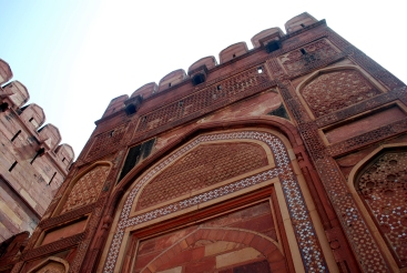 Security Walls of Agra Fort