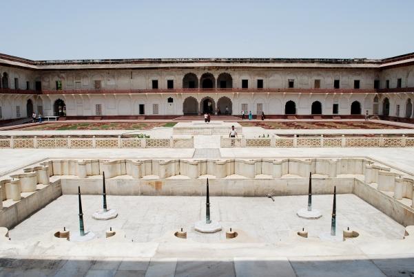 Fountain & Vineyard, Agra Fort