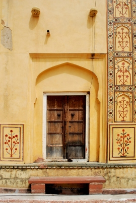 Doors of Amber Fort