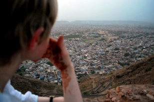 View of Jaipur from Nahargarh Fort