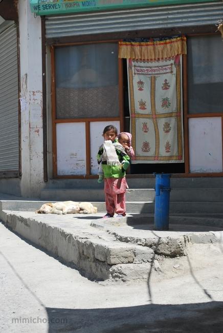Kids of Kaza, Northern India