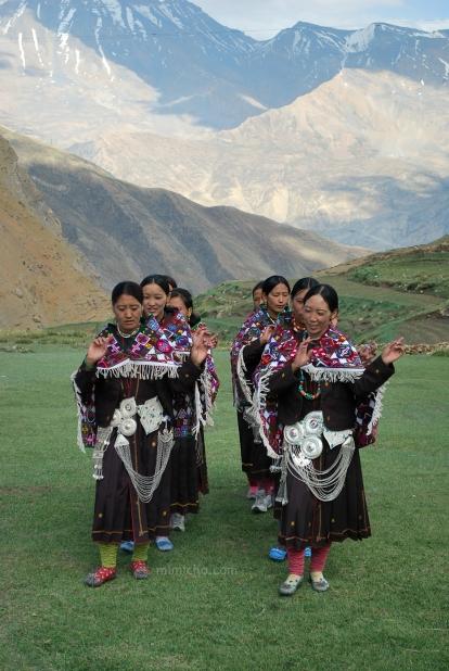 Dancers - Demul, Northern India