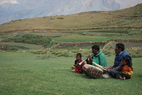 Musicians - Demul, Northern India