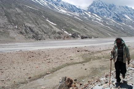 Himalayan mountain man - Spiti valley, Northern India