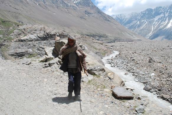 Himalayan mountain man 2 - Spiti valley, Northern India