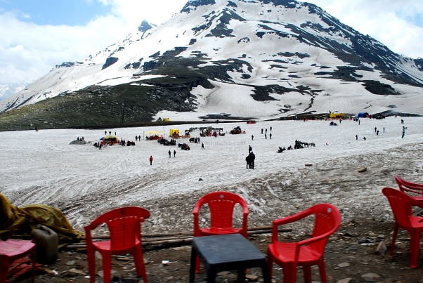 The Effects of Tourism at the Rohtang Pass, Spiti Valley, Northern India