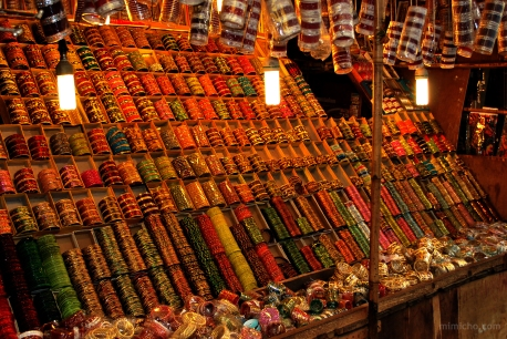 Bangles galore! - Delhi, India