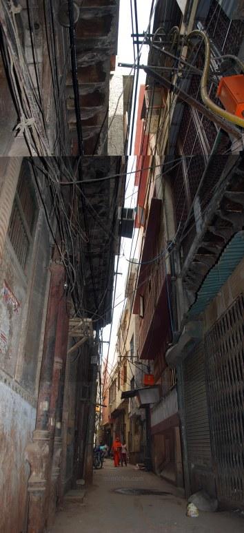 Old Delhi wires